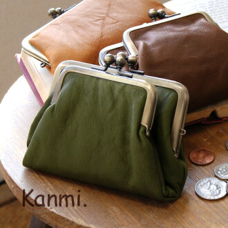 With washed-out, soft leather double Linnet purse coin purse! Your wallet as well as the MiniPCI card, IC regular etc on! / made in Japan / pouch / leather / pennies put / men's / women's ◆ kanmi.( Cammy ): Wallabies coin purse レザーショートウォレット