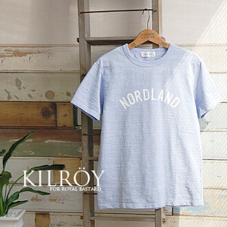 I appear at MENS size. A Slav fabric of the moderate thickness that made wash processing on the simple logo that wore well. ◆ KILROY (Kilroy) made in short-sleeved Tee/ cut-and-sew / Japan which is continued wearing regardless of a season, the fashion fo