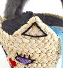 方向盘gafuwafuwa毛皮的猫动机筐子包。 女子的包包包小尺寸篮球猫猫动物动物CAT包猫毛皮手柄毛皮或者包筐子包◆casselini(kyaserini):fuwafuwa毛皮方向盘猫或者包