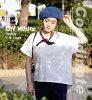 汗污垢已经不令人害怕!防水×吸水=穿着的感觉干爽!+UV cut功能T恤!◆zootie(动物园球座):☆活动中的☆汗不渗进的T恤[夸大的轮廓]