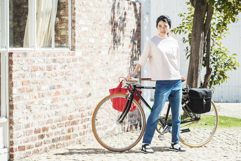 自転車で近所のパン屋さんへ