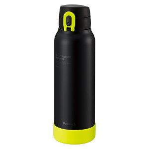 ステンレスボトル ワンタッチマグタイプ 0.8L ブラックイエロー AKE-R80BYピーコック魔法瓶工業 包装無料