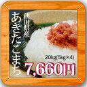 28年産秋田県産 あきたこまち白米20kg(5kg×4袋)