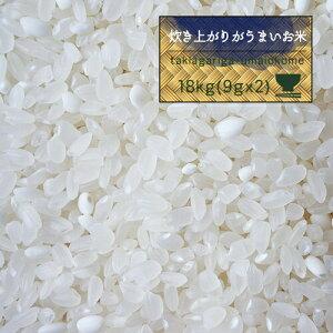 米 20kg 送料無料 お米 精米 もち米入 オリジナル 噂のTKU 【炊き上がりがうまいお米 白米18kg(9kg×2)】20キロ モチさぱ
