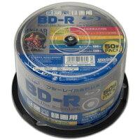 HI-DISC ハイディスクBD-R 6倍速 50枚 スピンドル HDBDR130RP50(2405069)通常送料1万円未満
