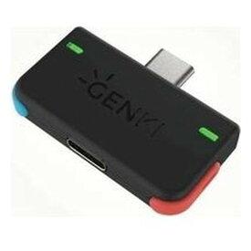その他GENKI USB-C オーディオアダプター ネオン Nintendo Switch ニンテンドースイッチ GENKIAUDIONEON(2502391)送料無料