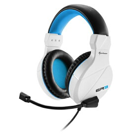 その他ゲーミング ステレオヘッドセット RUSH ER3 WHITE EDITION SHAER3W(2459060)