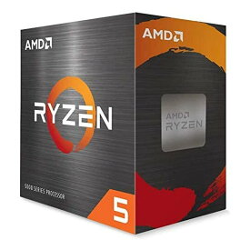 AMD エーエムディーRyzen 5 5600X with Wraith Stealth cooler 3.7GHz 6コア/12スレッド 35MB 65W 100-100000065BOX(2503753)送料無料