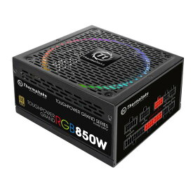 Thermaltake サーマルテイクTOUGHPOWER GRAND RGB -850W -NON DPS- 80+GOLD PC電源ユニット PS673 850W電源 PS-TPG-0850FPCGJP-R(2433396)送料無料