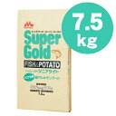 【送料無料】 森乳スーパーゴールド ドッグフード フィッシュ&ポテト シニアライト7.5kg
