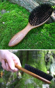 高級ドイツ製つや出し天然豚毛ブラシ・ソフト