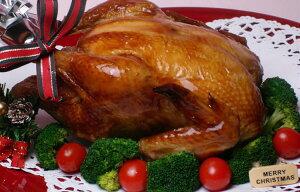 【鶏肉】若どりローストチキン(鶏1羽を丸焼き)