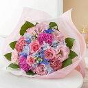 【母の日フラワーギフト】花束「ハピネス・ブルー」