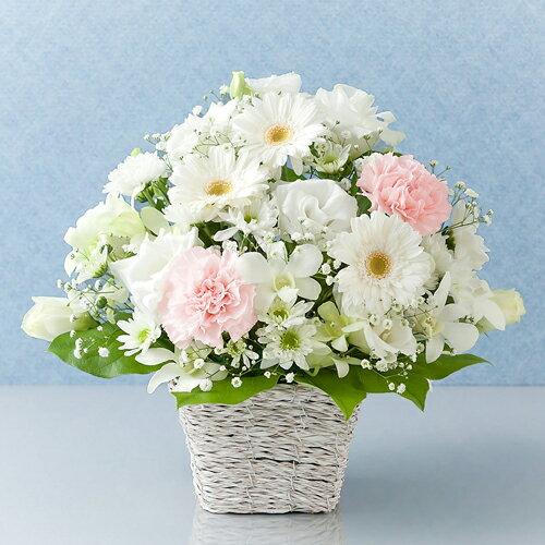 【お悔み・お供えの花】【アレンジメントフラワー】「花あかり」