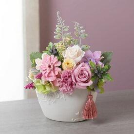【お悔み・お供えの花】プリザーブドフラワー「優華〜Yuuka〜」 ブリザーブド ブリザード プリザード