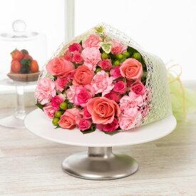 花束「Ma cherie(マ・シェリー)M〜 Rose〜」 フラワー ギフト 花 プレゼント お祝い 記念 贈り物 サプライズ 誕生日 結婚記念 開店祝い 送別会 歓送迎会 新築祝い 発表会 生花