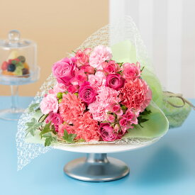 花束「Ma cherie(マ・シェリー)L〜 Rose〜」 フラワー ギフト 花 プレゼント お祝い 記念 贈り物 サプライズ 誕生日 結婚記念 開店祝い 送別会 歓送迎会 新築祝い 発表会 生花