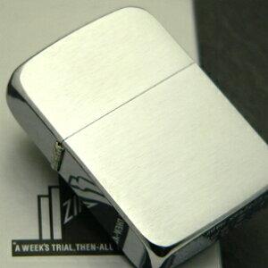 ◆オイル缶(小)1本付き  【ZIPPO】ジッポー 1941レプリカ ブラッシュド クローム ※フリント式オイルライター 【送料無料】