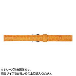 MIMOSA(ミモザ) 時計バンド PRA型押ワニ 12mm オレンジ (美錠:銀) CPR-OR12 【時計/ジュエリー/アクセサリ レビュー投稿で次回使える2000円クーポン全員にプレゼントその他】