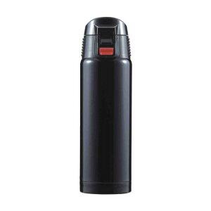 【送料無料】ジール ワンプッシュ式 携帯マグ 500ml ブラック F-2443 【家事用品 レビュー投稿で次回使える2000円クーポン全員にプレゼント容器・ストッカー・調味料容器】