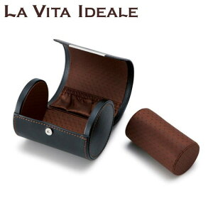 【送料無料】茶谷産業 LA VITA IDEALE(ラヴィータイデアーレ) ネクタイ&ウォッチケース 240-573BK 【時計/ジュエリー/アクセサリ レビュー投稿で次回使える2000円クーポン全員にプレゼントそ