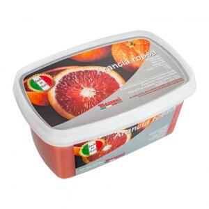 【送料無料】マッツォーニ 冷凍ピューレ ブラッドオレンジ 1000g 6個セット 9400 【軽食品 レビュー投稿で次回使える2000円クーポン全員にプレゼントフルーツ・野菜】