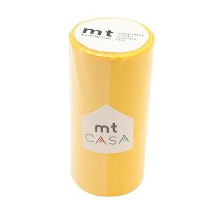 mt CASA マスキングテープ 100mm イエロー MTCA1091 【文具・玩具 レビュー投稿で次回使える2000円クーポン全員にプレゼント文具】