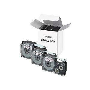 【送料無料】カシオ(CASIO) ネームランドテープセット 透明(黒文字) 9・12・18mm幅 3個入 生活用品・インテリア・雑貨 文具・オフィス用品 ラベルシール・プリンタ レビュー投稿で次回使え