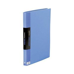 キングジム クリアファイル・カラーベース ポケット溶着式 B4判タテ型 142CW 青 1冊 生活用品・インテリア・雑貨 文具・オフィス用品 ファイル・バインダー クリアケース・クリアファイル レ