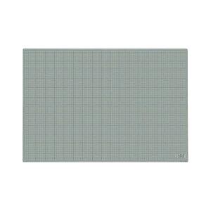 【送料無料】カッティングマット(再生PVC・両面使用可能) 灰/黒 900×620×3mm 生活用品・インテリア・雑貨 文具・オフィス用品 カッターマット・カッティングマット レビュー投稿で次回使