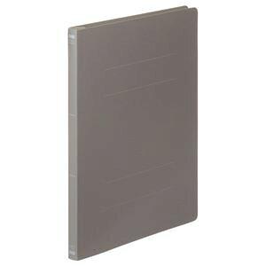 (まとめ) TANOSEE フラットファイル(PP) A4タテ 150枚収容 背幅17mm ダークグレー 1パック(5冊) 【×10セット】 生活用品・インテリア・雑貨 文具・オフィス用品 ファイル・バインダー クリ