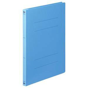 (まとめ) TANOSEE フラットファイル(PP) A4タテ 150枚収容 背幅17mm ブルー 1パック(5冊) 【×10セット】 生活用品・インテリア・雑貨 文具・オフィス用品 ファイル・バインダー クリアケー