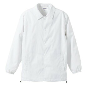 撥水防風加工裏地起毛付コーチジャケット ホワイト XL ファッション トップス ジャケット メンズジャケット レビュー投稿で次回使える2000円クーポン全員にプレゼント