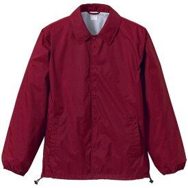 撥水防風加工裏地起毛付コーチジャケット バーガンディー S ファッション トップス ジャケット メンズジャケット レビュー投稿で次回使える2000円クーポン全員にプレゼント