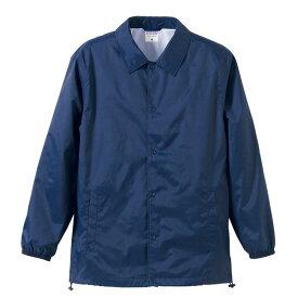 撥水防風加工裏地起毛付コーチジャケット ネイビー M ファッション トップス ジャケット メンズジャケット レビュー投稿で次回使える2000円クーポン全員にプレゼント