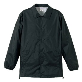 撥水防風加工裏地起毛付コーチジャケット ブラック M ファッション トップス ジャケット メンズジャケット レビュー投稿で次回使える2000円クーポン全員にプレゼント