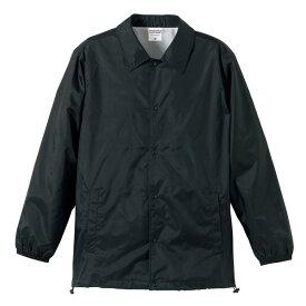 撥水防風加工裏地起毛付コーチジャケット ブラック L ファッション トップス ジャケット メンズジャケット レビュー投稿で次回使える2000円クーポン全員にプレゼント