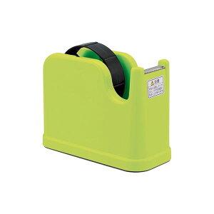 (業務用セット) テープカッター NTC-201-G グリーン【×10セット】 生活用品・インテリア・雑貨 文具・オフィス用品 テープ・接着用具 レビュー投稿で次回使える2000円クーポン全員にプレゼン