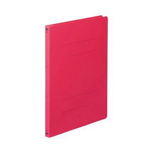 (まとめ) TANOSEE フラットファイル(PP) A4タテ 150枚収容 背幅17mm レッド 1セット(25冊:5冊×5パック) 【×2セット】 生活用品・インテリア・雑貨 文具・オフィス用品 ファイル・バインダ