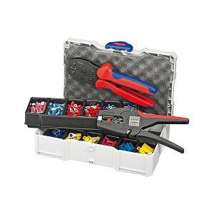【送料無料】KNIPEX(クニペックス)9790-22 圧着ペンチセット スポーツ・レジャー DIY・工具 ペンチ 圧着ペンチ レビュー投稿で次回使える2000円クーポン全員にプレゼント
