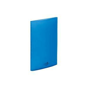 【送料無料】(業務用100セット) LIHITLAB クリアファイル/ポケットファイル 【A4/タテ型】 ヨコ入れ式 青 N5040-8 生活用品・インテリア・雑貨 文具・オフィス用品 ファイル・バインダー クリアケ