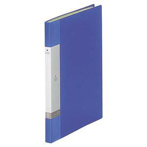 (まとめ) リヒトラブ リクエスト クリヤーブック(クリアブック) A4タテ 20ポケット 背幅16mm 青 G3201-8 1冊 【×20セット】 生活用品・インテリア・雑貨 文具・オフィス用品 ファイル・バインダー