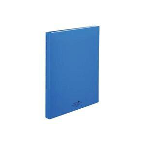 【送料無料】(業務用50セット) LIHITLAB クリアファイル/ポケットファイル 【A4/タテ型】 ポケット差替式 N-5016-8 青 生活用品・インテリア・雑貨 文具・オフィス用品 ファイル・バインダー クリ