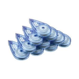 【送料無料】(まとめ) TANOSEE 修正テープ 5mm幅×8m ブルー 1セット(20個) 【×2セット】 生活用品・インテリア・雑貨 文具・オフィス用品 修正液・修正ペン・修正テープ レビュー投稿で次