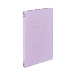 (まとめ) コクヨ フラットファイルV(樹脂製とじ具) A4タテ 150枚収容 背幅18mm 紫 フ-V10V 1パック(10冊) 【×5セット】 生活用品・インテリア・雑貨 文具・オフィス用品 ファイル・バインダー クリ