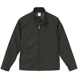 テカリを抑えた綿混・撥水加工、防風加工、裏地付スウィンブトップジャケット ブラック L ファッション トップス ジャケット メンズジャケット レビュー投稿で次回使える2000円クーポン全員にプレゼント