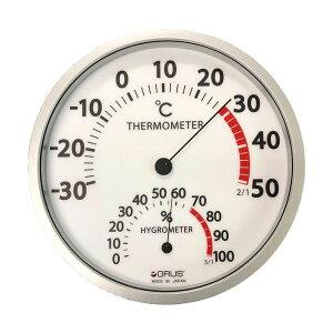 【送料無料】GRUS(グルス) 壁掛け 大型温湿度計 ダイエット・健康 健康器具 温度計・湿度計 レビュー投稿で次回使える2000円クーポン全員にプレゼント