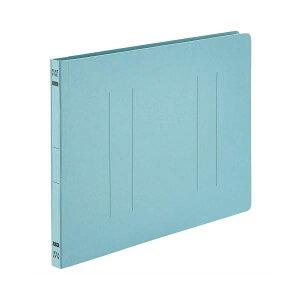 (まとめ) TANOSEE フラットファイルE A4ヨコ 150枚収容 背幅18mm ブルー 1パック(10冊) 【×30セット】 生活用品・インテリア・雑貨 文具・オフィス用品 ファイル・バインダー クリアケース・ク