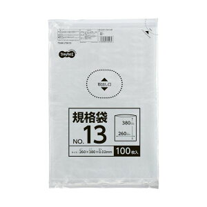 【送料無料】(まとめ) TANOSEE 規格袋 13号0.02×260×380mm 1セット(1000枚:100枚×10パック) 【×10セット】 生活用品・インテリア・雑貨 文具・オフィス用品 袋類 その他の袋類 レビュー投稿で次