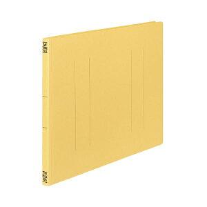 (まとめ) コクヨ フラットファイルV(樹脂製とじ具) A3ヨコ 150枚収容 背幅18mm 黄 フ-V48Y 1パック(10冊) 【×10セット】 生活用品・インテリア・雑貨 文具・オフィス用品 ファイル・バインダー ク